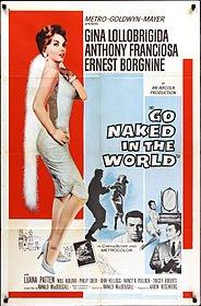 Locandina - Go naked in the world, 1961 - YURY