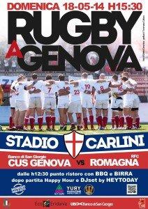 yury magazine & cus genova rugby