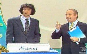 Dopo Renzi alla Ruota della Fortuna, ecco Salvini a Il Pranzo è servito, con Davide Mengacci