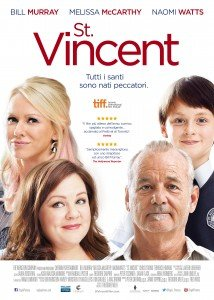 Locandina St. Vincent, film 2014