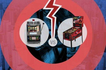Slot machine vs Flipper