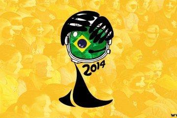 Manifesti dei Mondiali di calcio
