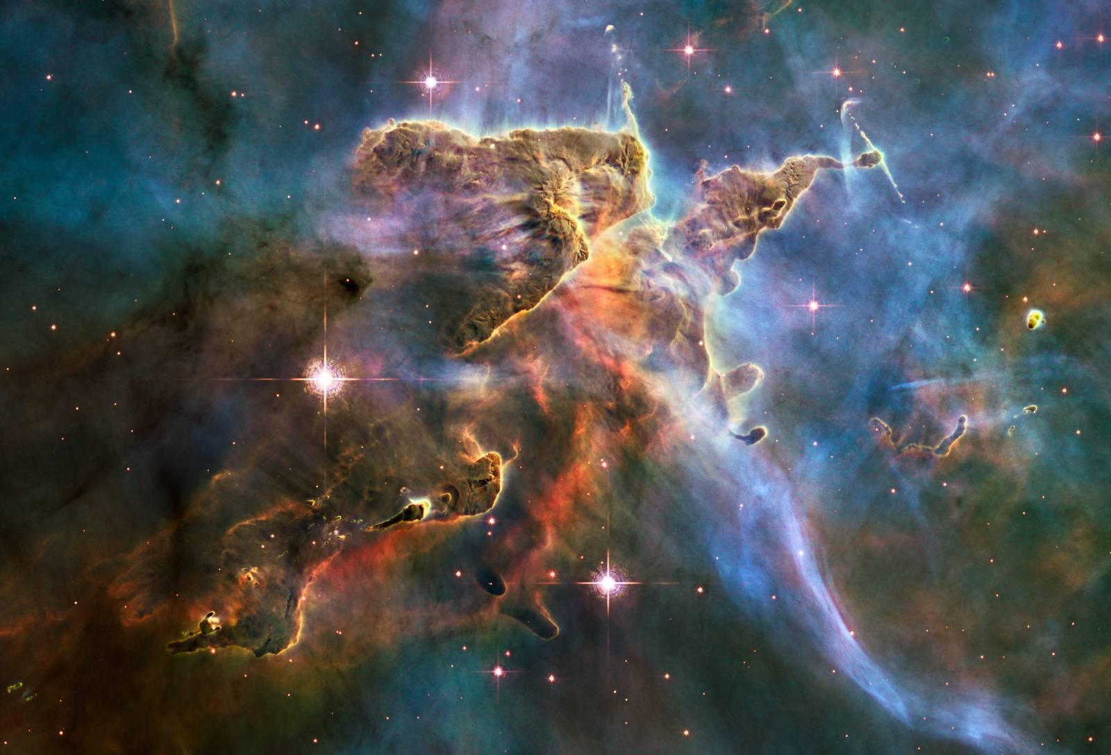 carena nebulosa più bella