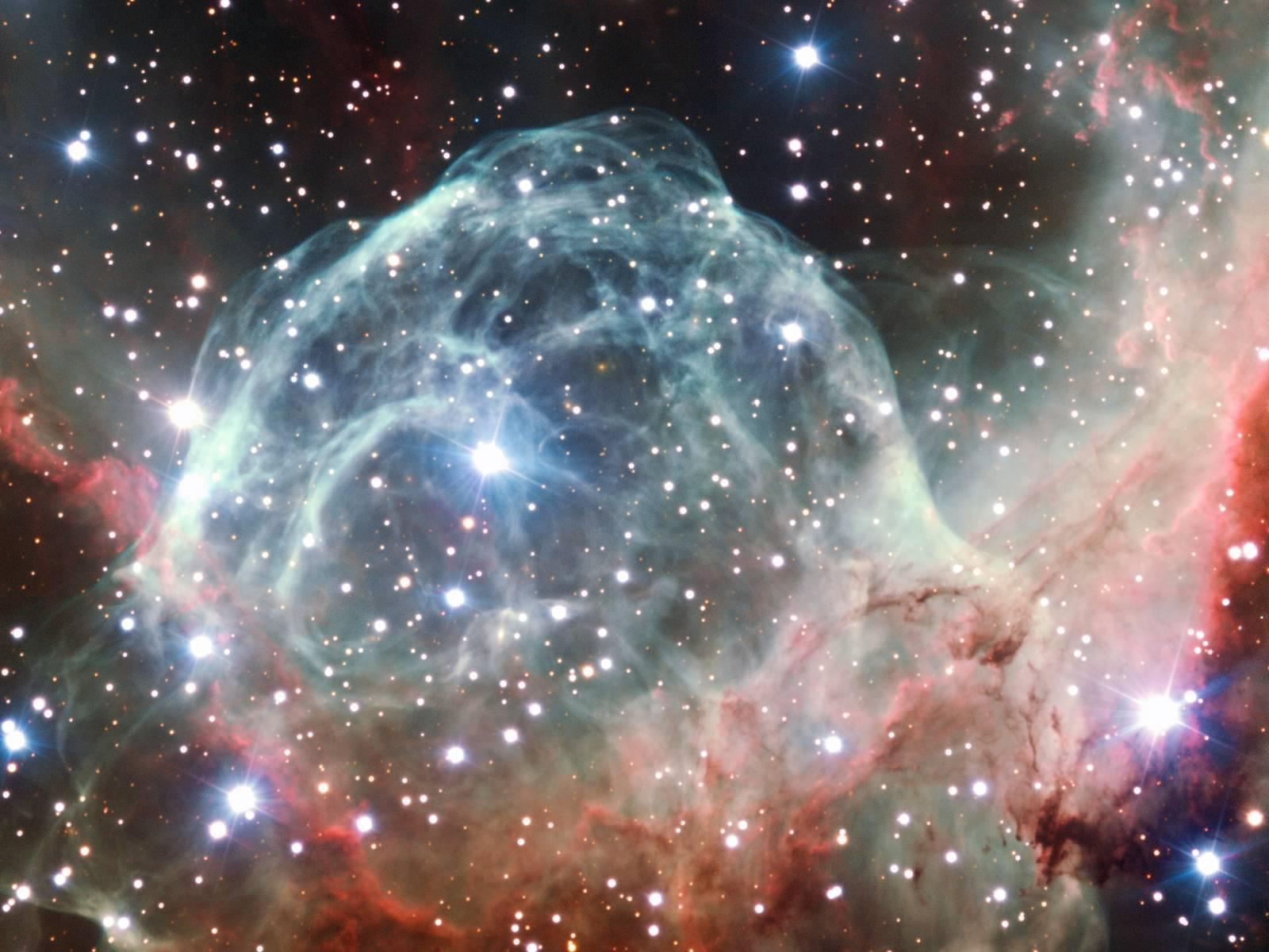 Elmo di thor, nebulosa