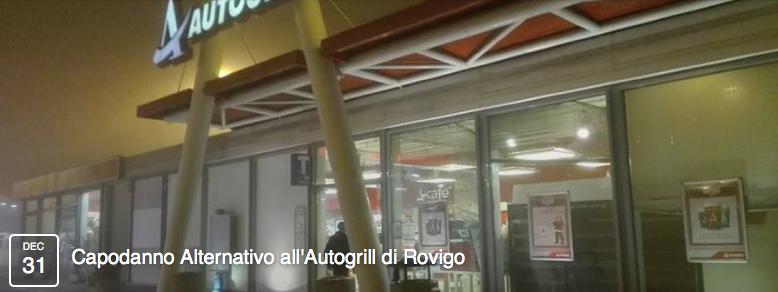 Capodanno Alternativo all'Autogrill di Rovigo