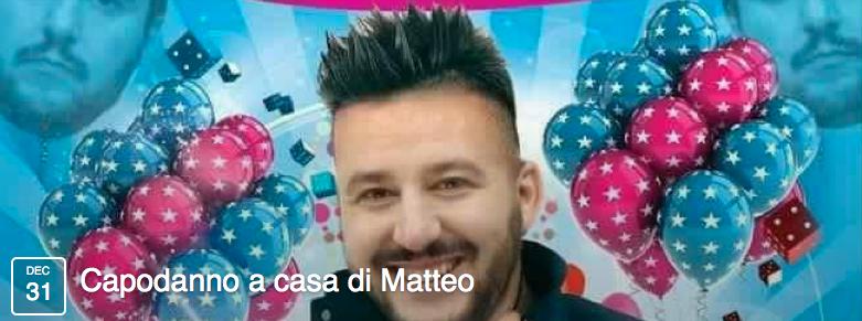 Capodanno a casa di Matteo