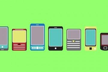 smartphones graphic