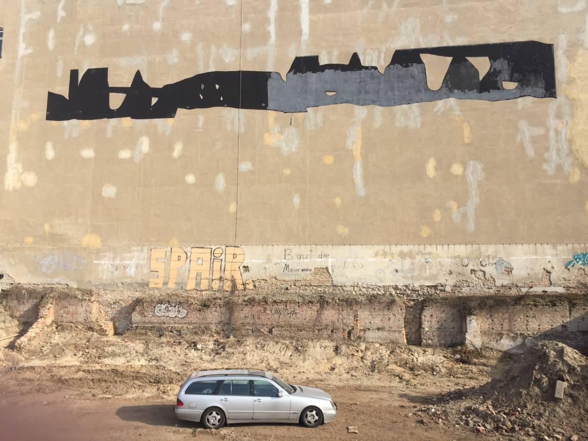 A mural for Berlin – Arturo Herrera - street art berlino