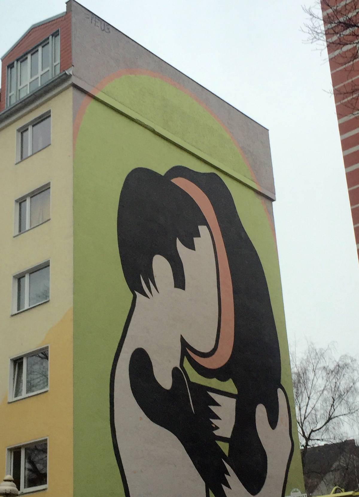 Rounded Heads – Nomad - street art berlino