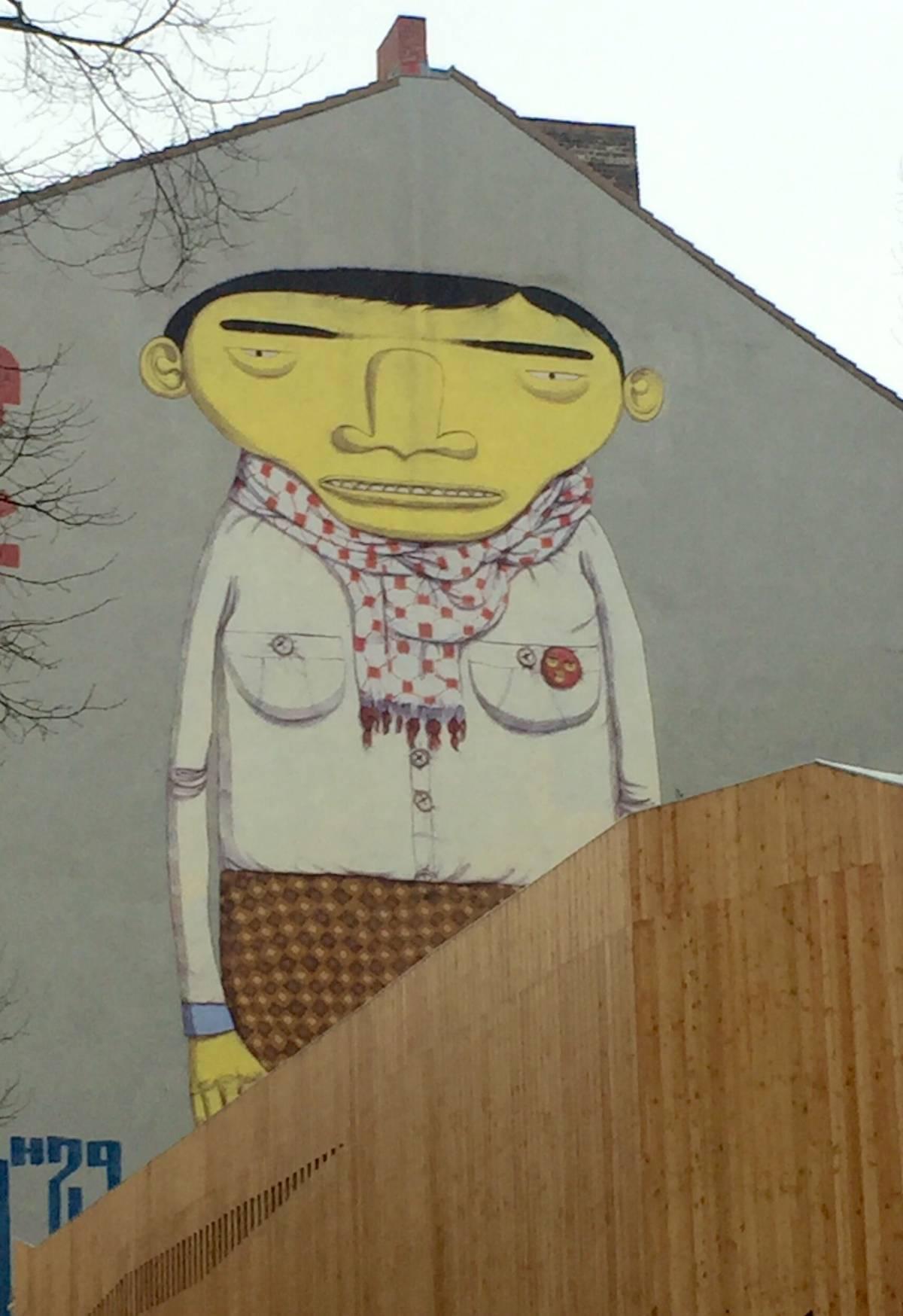 Yellow Man – Os Gemeos - street art berlino
