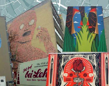 street art a berlino