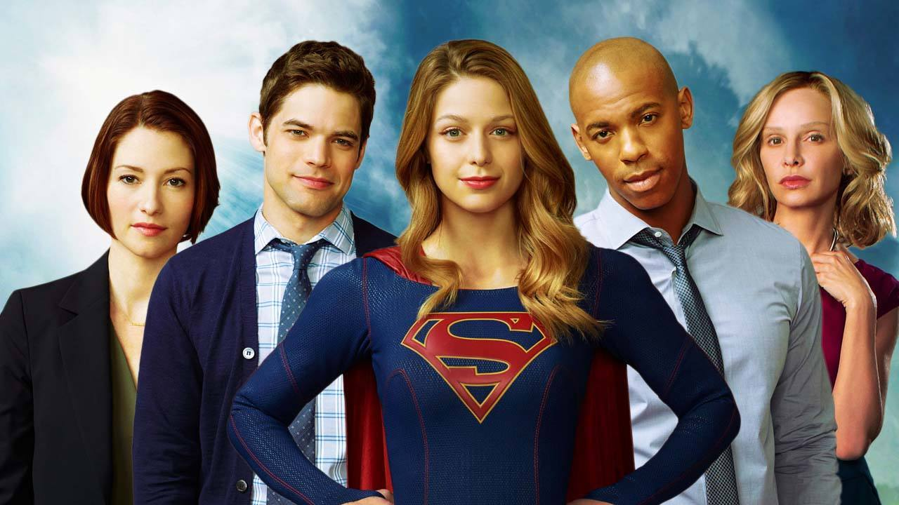 cast supergirl serie tv
